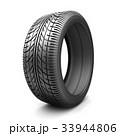 タイヤ 自動車 車のイラスト 33944806