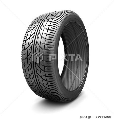 One tire car 33944806