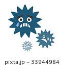 ウィルス 弱る ウイルスのイラスト 33944984
