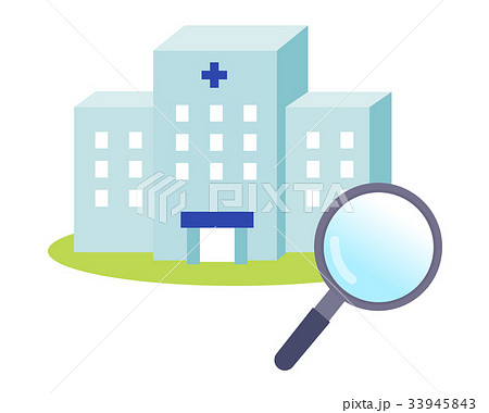 病院と虫眼鏡 33945843