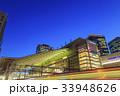 大阪駅 夜 駅ビルの写真 33948626