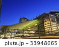 大阪駅 夜 駅ビルの写真 33948665