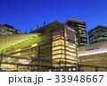 大阪駅 夜 駅ビルの写真 33948667