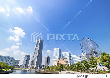 横浜 みなとみらい 都市風景 33950661