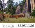 瓜割石庭公園 石切場 高畠石の写真 33951186