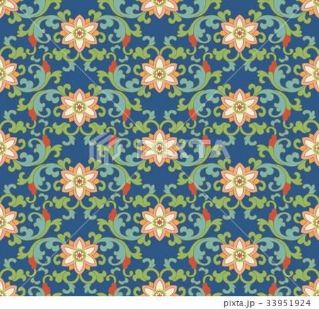 Seamless background vintage retro pattern 33951924