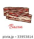 お肉 ミート 肉のイラスト 33953814