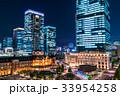 東京駅・丸の内の夜景 33954258