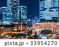 東京駅・丸の内の夜景 33954270