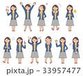 女性6 表情セットA 33957477