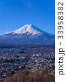 富士山 富士吉田市 冬の写真 33958382