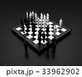 チェス版上で闘うビジネスマン 33962902
