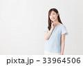 若い女性 33964506