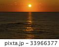 風景 海 夕日の写真 33966377
