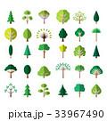 樹木 樹 ツリーのイラスト 33967490