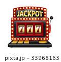 スロット 賞金 ジャックポットのイラスト 33968163