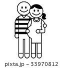 妊婦さんと夫 33970812