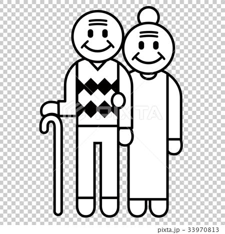 senior, elderly couple, old couple 33970813