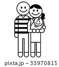 3人家族 33970815