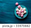 メレンゲ ピンク ピンク色の写真 33970882
