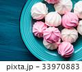 メレンゲ ピンク ピンク色の写真 33970883
