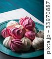 メレンゲ ピンク ピンク色の写真 33970887