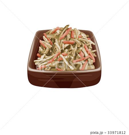 ゴボウ の サラダ