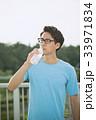 ジョギング(水分補給) 33971834