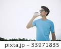 ジョギング(水分補給) 33971835