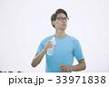 ジョギング(水分補給) 33971838