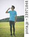 ジョギング(水分補給) 33971848