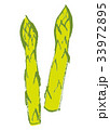 アスパラガス 水彩画 33972895