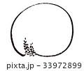 稲穂 フレーム 枠 水彩画 33972899