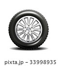 タイヤ 車 自動車のイラスト 33998935