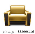 アームチェア アームチェアー 家具のイラスト 33999116