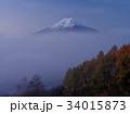 富士山 富士 晩秋の写真 34015873