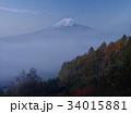 富士山 富士 晩秋の写真 34015881