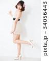 女性 ポーズ 若いの写真 34056443