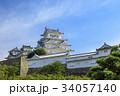 姫路城 天守閣 城の写真 34057140