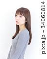女性 若い ヘアスタイルの写真 34060814