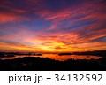 長崎 夕陽 海の写真 34132592