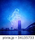 星座 星 星空のイラスト 34135733