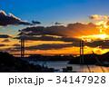 長崎 長崎港 女神大橋の写真 34147928