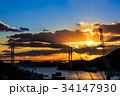 長崎 長崎港 女神大橋の写真 34147930