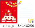 HAPPY BIRTHDAY CARD  34148250