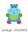 動物 おもちゃ 玩具のイラスト 34150033