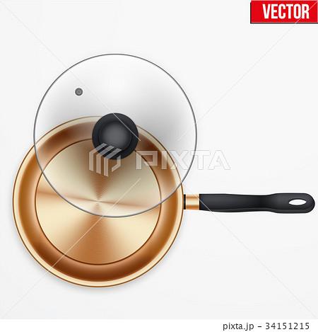 Classic brass fry pan 34151215