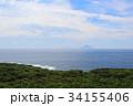 大島町 利島 海の写真 34155406