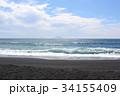 大島町 海 波の写真 34155409