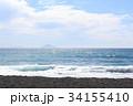 大島町 海 波の写真 34155410